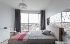 89 kv.m butas Vilniuje, kuriame jautiesi lyg pakibęs ore