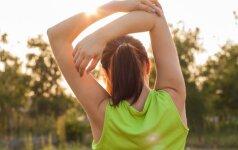 Specialistų patarimai: kaip treniruojantis nepakenkti sau
