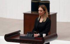 Turkijos parlamente – sąmyšis