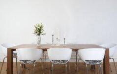 Butas, kuriame persipynė klasikinis, modernus ir minimalistinis stiliai