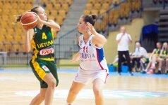 Lietuvos 20-metės pasiruošimą Europos čempionatui baigė pralaimėjimu jaunesnėms prancūzėms