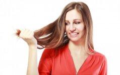 Išsausėję plaukai ir riebi galvos oda: kaip spręsti šią problemą?