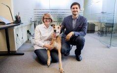 Advokatas atvėrė kontoros duris: viena iš kolegių – keturkojė Makarena