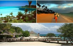 Rojus žemėje: įspūdingiausi pasaulio paplūdimiai