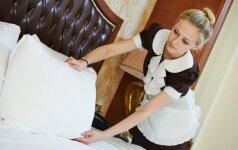 8 paslaptys, kurias atskleidžia viešbučių darbuotojai