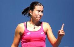 Latvė ir estė sėkmingai pradėjo WTA varžybas JAV