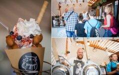Pasaulį sudrebinęs desertas – jau Lietuvoje: už porciją ledų moka 4 eurus ir dar stovi eilėse