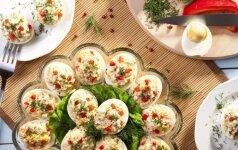 Ant Velykų stalo: 4 kiaušinių įdarai