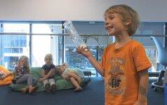 Darželinukai mokosi aplinkosaugos: kaip rūšiuoti, taupyti vandenį ir elektrą