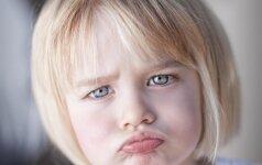 Kaip pasakyti vaikui NE, neištariant žodžio NE