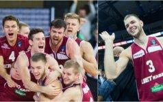 """MVP titulas – dviem """"Lietkabelio"""" lietuviams, o D. Tarolio dėjimas – gražiausių dešimtuke"""