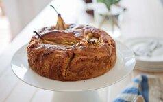 Kriaušių pyrago receptas, kurį būtina išbandyti