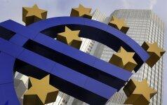 Rinkos dalyviai teigiamai sureagavo į ECB pasisakymus dėl monetarinės politikos