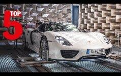 """""""Porsche"""" išrinko penkis gražiausiai skambančius automobilius"""