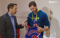 D. Petrovičiaus mamos dovana pravirkdė Slovėnijos krepšinio herojų