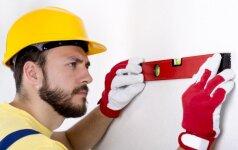 Sienų lyginimas: tinkuoti ar tvirtinti plokštes?