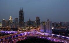 Vidutinė būsto kvadratinio metro kaina Šanchajuje pernai siekė 5,5 tūkst. dolerių