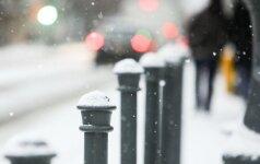 Sninga, sniegas ziema