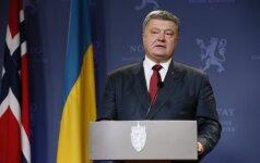 P. Porošenko ragina ES sugriežtinti sankcijas Rusijai