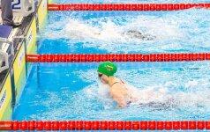 Iš Bratislavos Lietuvos plaukikės sugrįžo skirtingų nuotaikų