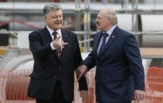 Černobylio tragedijos metinės: Ukrainos ir Baltarusijos lyderiai apsilankė avarijos vietoje