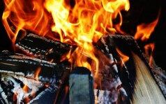Du būdai, kaip efektyviai įkurti ugnį židinyje