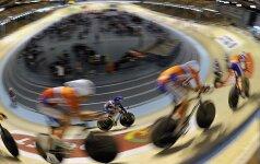 V. Lendelis dviračių treko varžybose Čekijoje – trečias