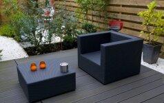 Kokius lauko baldus rinktis, kad vakarais nebūtų šalta?