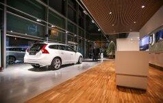 Atnaujintas Volvo salonas atvėrė duris