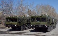 """NATO reikalauja iš Rusijos paaiškinimo dėl """"Iskander raketų dislokavimo"""