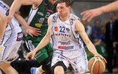 """M. Runkauskas atseikėjo varžovams 40 taškų ir garantavo pergalę """"Neptūnui"""""""
