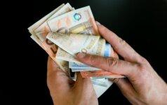 Lietuvoje – atlyginimų šuolis