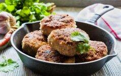 ATRADIMAS: bulvių ir mėsos kotletai