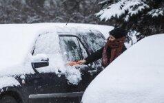 Orai: sugrįš ir žiema, ir sniegas