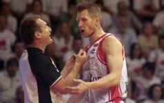 Puikiai atakavęs R. Kaukėnas padėjo išlyginti pusfinalio serijos rezultatą