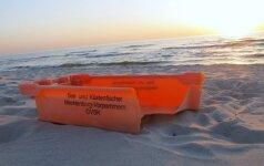 Baltijos jūros šiukšlės: nuo maišelių iki šaldytuvų
