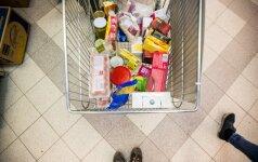 Pirkėjai parduotuvėse fiksuoja dar neregėtus skaičius