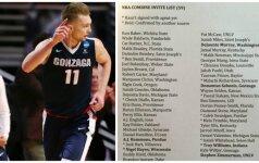 Jubiliejaus išvakarėse D. Saboniui – daug žadantis kvietimas iš NBA