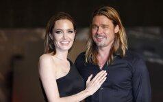 A. Jolie šeima IŠGYVENA KARDINALIAS PERMAINAS - lemtingą sprendimą nuo B. Pitto slėpė iki paskutinės minutės FOTO