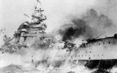 Lakūno mirtis grąžino į 1941-ųjų tragediją: laivų gigantų mūšiuose žuvo tūkstančiai