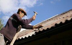 Asbesto stogai: kaimui - nebereikia, miestui - teks laukti