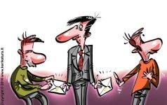 Atskleidė, kokios profesijos atstovai nebaudžiami už kyšius