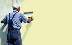 Ekspertai pataria, kaip paprastai ir greitai nudažyti fasadą
