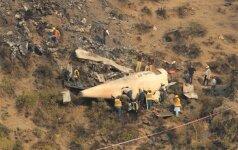 Gelbėtojai pateikė naujų detalių apie tragišką Pakistano lėktuvo katastrofą
