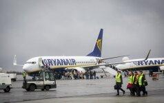 """""""Ryanair"""" nustatė terminą """"Brexit"""" susitarimui dėl oro transporto"""