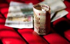 Rusijos centrinis bankas sumažino palūkanų normą
