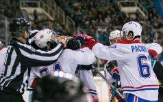Grumtynės NHL rungtynių metu