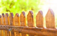 Skaitytojas klausia: noriu tverti tvorą – ar turiu atsiklausti kaimyno?