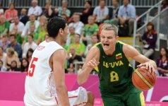Lietuva laimėjo nervų karą prieš Tunisą ir iškopė į olimpinio turnyro ketvirtfinalį