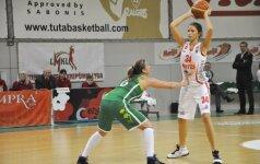 Lietuvos 17-mečių merginų krepšinio rinktinė Maskvoje nugalėjo baltaruses